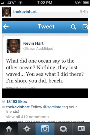 Kevin Hart Funny Quotes
