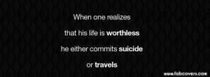 Worthless Quotes Facebook Timeline Cover