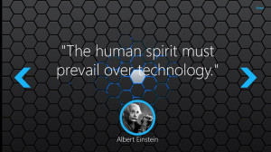 Keen Quotes: Technology screen shot 1