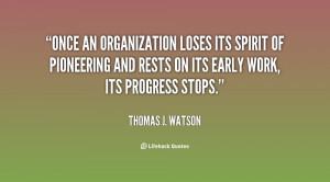 Organization Quotes