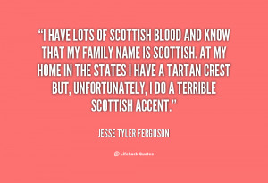 Scottish Quotes About Family
