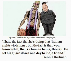 Dennis Rodman on Friends