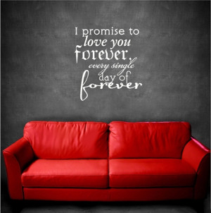 Wallpaper: I Promise to love you forever Wallpapers