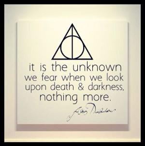 Albus Dumbledore quote