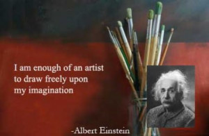 am enough of an artist to draw freely upon my imagination.