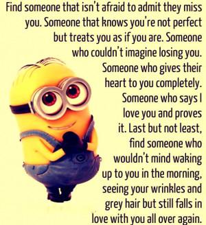 Minion Love Quotes