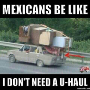 Mexicans that's how we do it