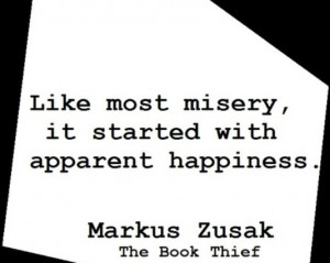 Like most misery, it started with apparent happiness.