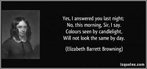 Elizabeth Barrett Browning Quotes