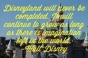 So then the entire world could be taken up by disneyland?????! That ...