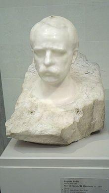 Bust of Edward H. Harriman by Auguste Rodin