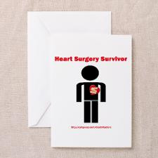 Heart Surgery Surviver Greeting Cards (Package of for