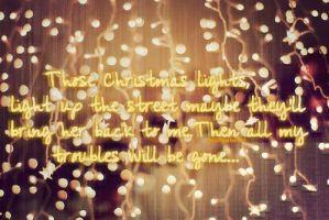 Christmas Lights.- Coldplay by BeluMonster