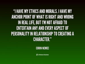 Quotes About Morals and Ethics