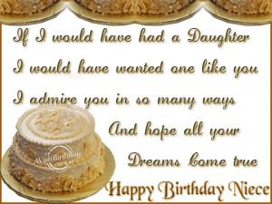 Wishing You A Very Happy Birthday Niece