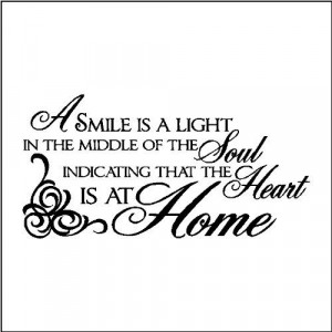 Smile Quotes | AffirmArt: Smile Quotes Wall Decals