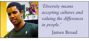Diversity means accepting cultures and valuing the differences in ...