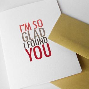so glad I found you