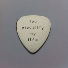 ... metal plectrum - You electrify my life - Muse Lyrics - Music Quote