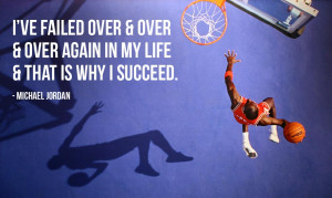 Today's motivational quote comes from basketball legend Michael ...