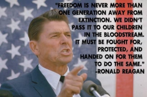 Ronald reagan quotes on freedom