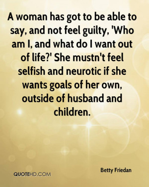 Betty Friedan Husband Quotes