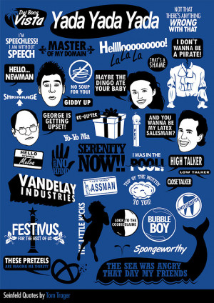 Seinfeld Quotes by Tom Trager