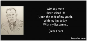More Rene Char Quotes