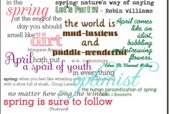 quotes funny spring quotes spring quote flower quotes spring cleaning ...
