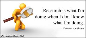 InspirationalQuotes.Club - research, know, intelligent, funny, science ...