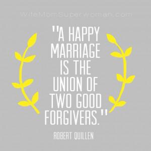 Marriage quote by Robert Quillen