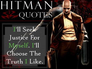 Agent. 47 (quote #6) crimes video games