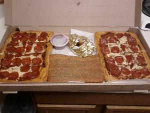 PIZZA HUT BIG DIPPER NUTRITIONAL INFORMATION