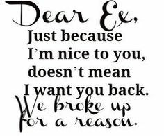 crazy ex quotes | Staying Friends With An Ex (Couldn't Get Any Worse ...