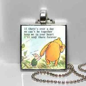 ... -POOH-LOVE-QUOTE-GRANDDAUGHTER-kindergarden-GRADUATION-Gift-Necklace