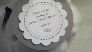 Bridal Shower Favor Tag Sayings http://www.etsy.com/listing/114666348 ...