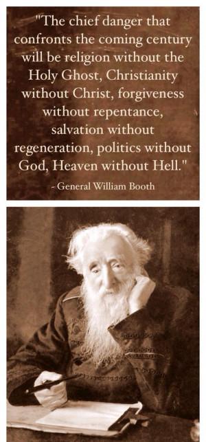 ... Concern, 'Generation Williams, General Williams, Salvation Army