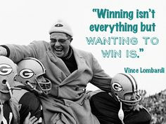 Vince Lombardi Quotes Winning Vince lombardi quote
