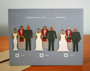 Practice Marriage Complete - Funny Wedding Congratulations Card