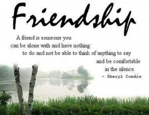 Value Of Friendship: