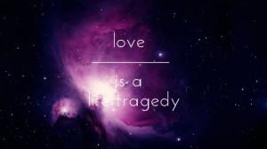galaxy love pink quote favim com 1217271 jpg
