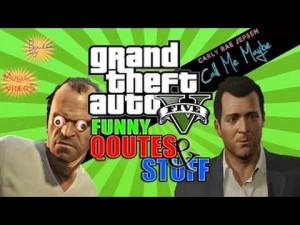 GTA 5 FUNNY QUOTES & STUFF! (GTA 5 Funny Moments)