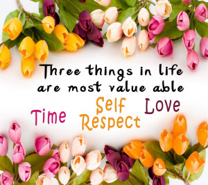 Cute quotes with flowers design