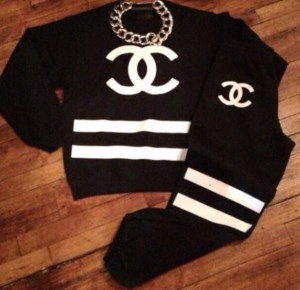 Coco Chanel Sweat Outfits