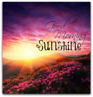 Good Morning Sunday Sunshine Beach Beautiful