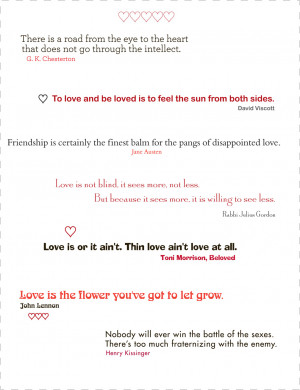 here are a few quotes about love from famous people and a vintage ...