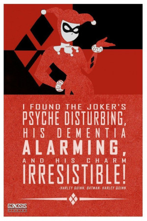 Harley Quinn quote