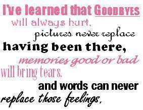 Good Byes Quotes
