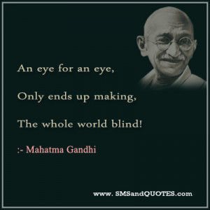 Mahatma Gandhi Quotes About Peace