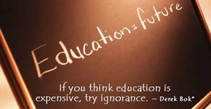 rewards and punishment is the lowest form of education the